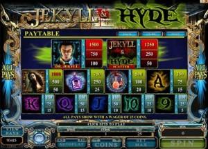 Jekyll & Hyde Slot revisión